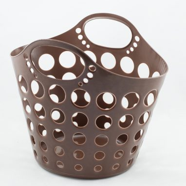 Laundry basket brown