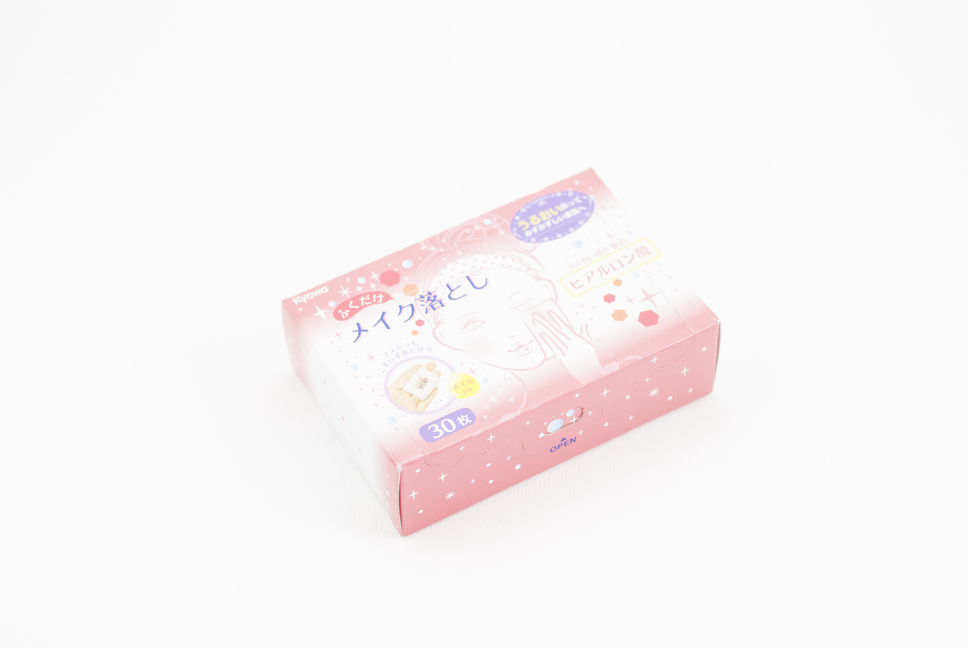 Makeup removal cleansing tissues