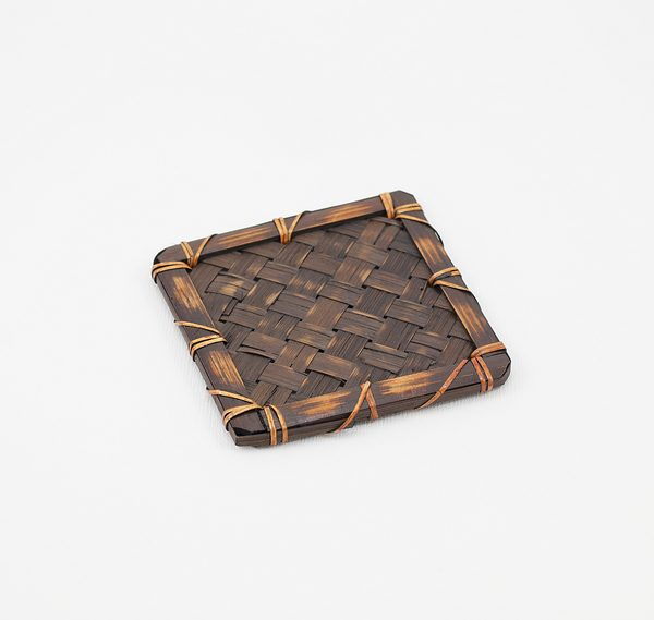 Japanese hand craft bamboo tea tray